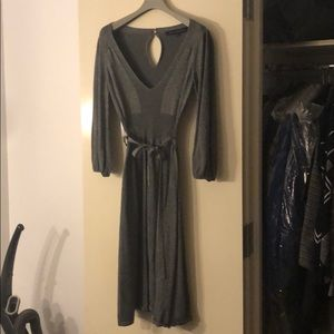 Silver French Connection scoopneck Dress